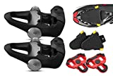 Garmin Vector 3 Clipless Pedal-Based Power Meter with Road Clete Protective Covers (2-Pack) Bundle | Cycle Power Meters (x2), Road Bike Cletes, Speed, Cadence, Cycling Dynamics