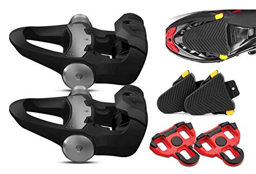 (Garmin Vector 3 Clipless Pedal-Based Power Meter with Road Clete Protective Covers (2-Pack) Bundle | Cycle Power Meters (x2), Road Bike Cletes, Speed, Cadence, Cycling Dynamics )