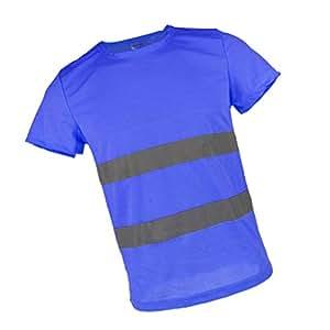 B Blesiya Camiseta Indicador de Seguridad con Manga Corta ...