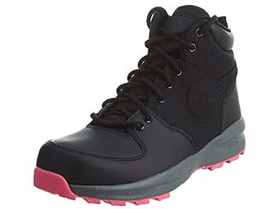 Amazon.com | NIKE Manoa (GS) Big Kid's Shoes Black/Black