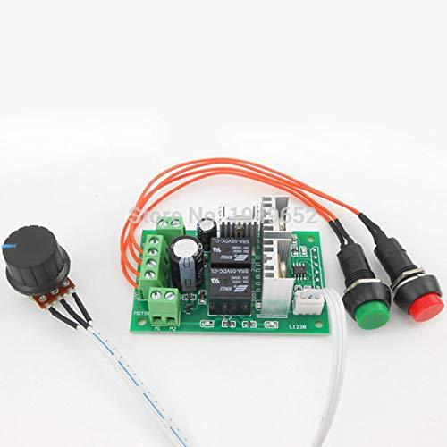 PWM dc Motor Controller Forward and Backward Linear Actuator Governor Speed Control self-Reset 6V/12V/24V 10A