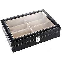 Leather Sunglasses Storage Box For 8 Glasses Sunglass Display Organizer Case Jewelry Storage,btoc