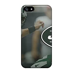 Iphone 5/5s PDg15555HlCA Support Personal Customs Attractive New York Jets Skin Scratch Resistant Hard Phone Covers -MansourMurray