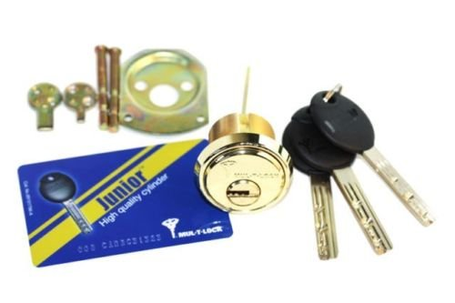 Mul-t-lock Junior Rim & Mortise High Quality Rimo Cylinder. Mul-t-lock Rim Mortise 3 Keys