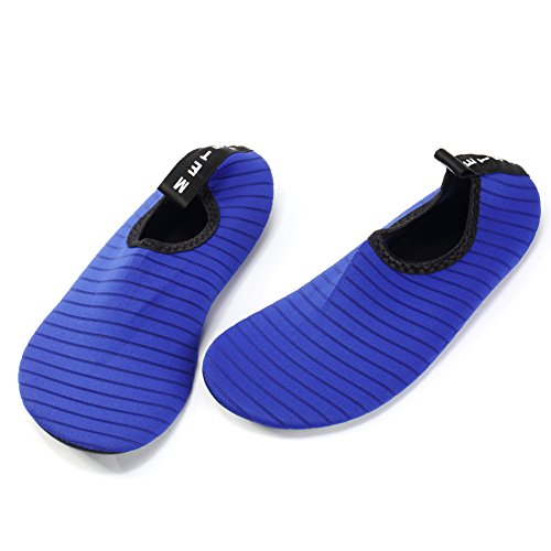 Shoes and Flexible Beach Water Lightweight for Women Man xcyliveus Blue Dry Quick Breathable Shoes 5PFatxw
