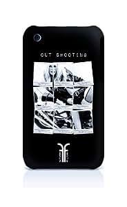 Sublinov Frenchie Frenchie Brigitte - Carcasa rígida para iPhone 3GS (diseño con imagen de Brigitte Bardot), color negro