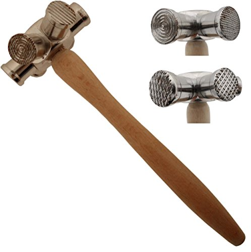 ToolUSA 6-in-1 10 Inch Multi-Head Hammer With Different Shapes: - Head Shapes Different