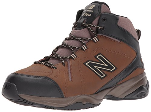 Mid Cross Training Shoe (New Balance Men's 608v4 Mid Training Shoe, Brown, 9 4E US)