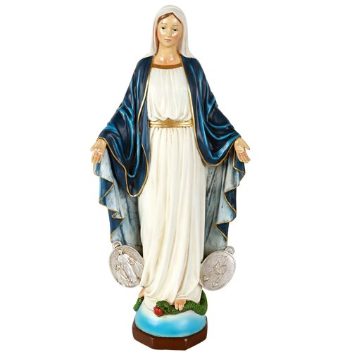 Pacific Giftware Our Lady of Miraculous Medal Lady of Grace Mary Collectible Figurine 16 Inch