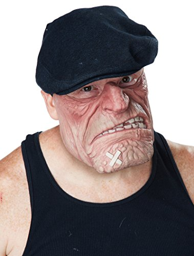 Funny Guy Costume 2016 (California Costumes Men's Comic Book Brawler Mask, Flesh, One Size)