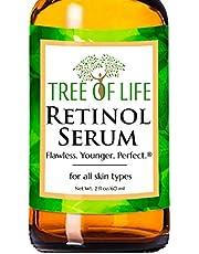 Best Retinol Serum - 72% ORGANIC - Clinical Strength Retinol Moisturizer Anti Aging Anti Wrinkle Serum - SATISFACTION GUARANTEED