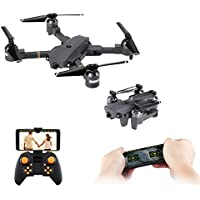 Goolsky Attop XT-1 WIFI 2.4G 6-axis Gyro FPV 2.0MP Camera 3D Flip Altitude Hold Foldable RC Quadcopter w/Two Batteries