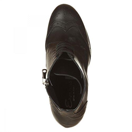 VialeScarpe I6-es_am2vtne_37 - Zapatos de cordones para mujer negro negro 37 negro