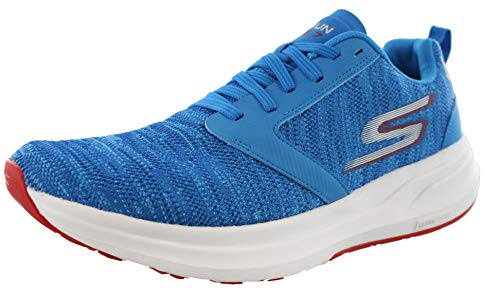 Skechers Mens Go Run Ride 7 Running Shoes Houston Marathon 2019 (9 M US, Royal/Red)