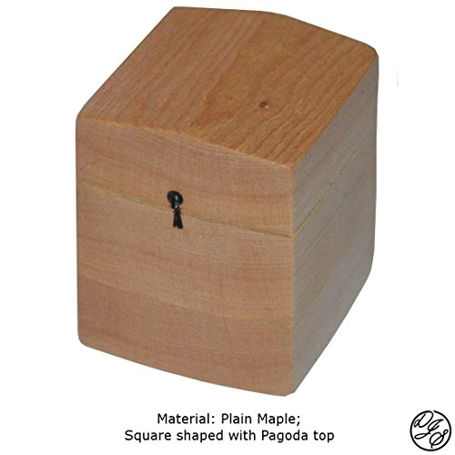 Ring Boxes made with Maple by DJS Treasure Chests