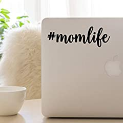 This custom #momlife decal can be created in your choice of solid or glitter color (available colors are in last photo).Sizes for this decal are WIDTH (heights may vary slightly depending on # of letters used), and include recommended sizes f...