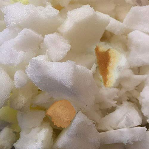 Triturada de espuma relleno - todos los nuevos recogemigas espuma relleno, reciclado - recambio para Bean Bag Bazaar puf infantil, de camas, sillas, ...