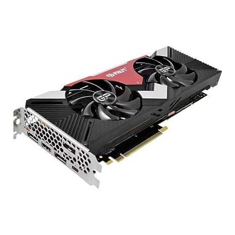 Palit NE62070U20P2-1060A - Tarjeta gráfica (GeForce RTX 2070, 8 GB, GDDR6, 256 bit, 7680 x 4320 Pixeles, PCI Express x16 3.0)