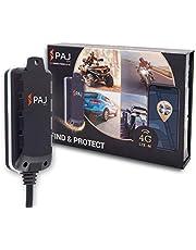 4G GPS tracker voor motorfiets en voertuig, Vehicle Finder 2.0 van PAJ GPS, directe aansluiting 8-32 V, live lokalisatie via app, 100 dagen afstandsgeheugen, alarmmeldingen direct op je mobiele telefoon