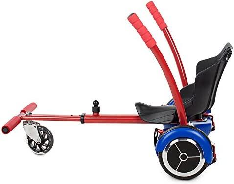 Kawasaki Hover Kart Silla para Scooter, Rojo, Talla Única