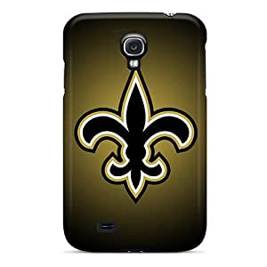DeanHubley Samsung Galaxy S4 Shock Absorbent Hard Phone Cover Customized Stylish New Orleans Saints Skin [RXd2773StDL]