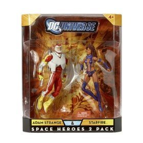 DC Universe Classics Exclusive Action Figure 2-Pack Adam Strange and Starfire