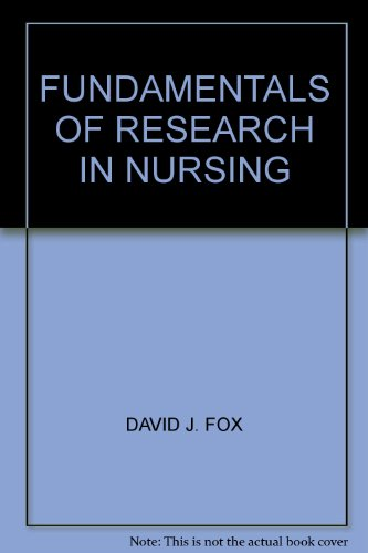FUNDAMENTALS OF RESEARCH IN NURSING