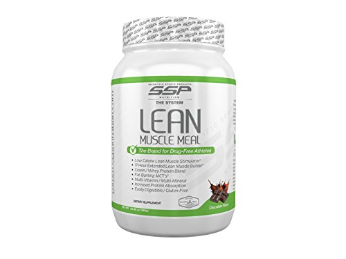 SSP Nutrition Lean Muscle Meal for Powerlifters - WADA Compliant, IPF Approved by Scientific Sports Products