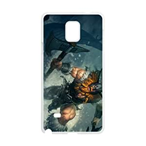 Samsung Galaxy Note 4 Cell Phone Case White League of Legends Olaf 0 LK1596415