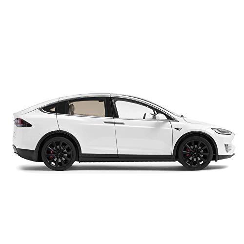Tesla Diecast (White, Model X) 18 Autoart Diecast Model