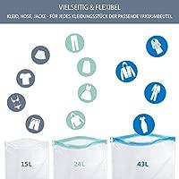 Bolsas de vacío Nordic Viaje - 10 x envasar al vacío Bolsas ...