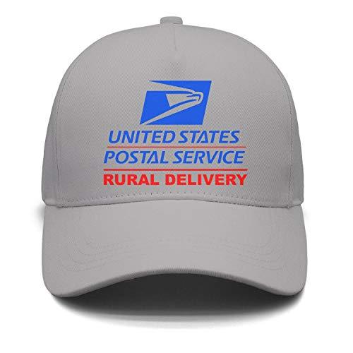 Unisex Flat Cap Vintage Adjustable U.S.-Mail-Rural-Delivery-Magnetic-Car-Sign- Hip-Hop Cap