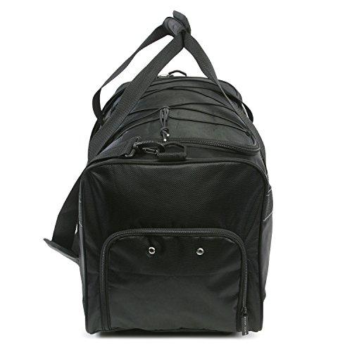 """417pBbLe%2BlL - Perry Ellis 22"""" Weekender Duffel Bag, Black"""