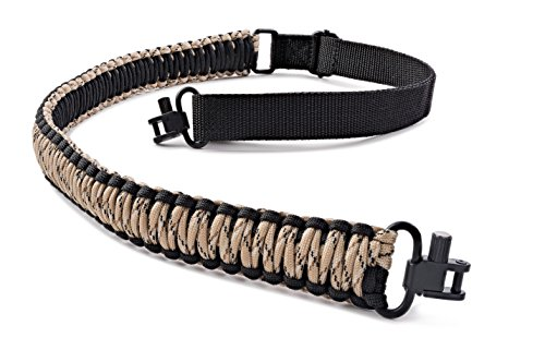 SREMMOS TM Two Point Rifle Sling with Swivels, Heavy Duty Gun Sling, Paracord Sling for Rifle, Multiple Colors Photo #1
