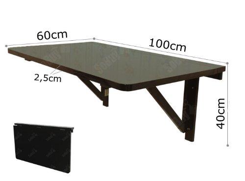 free table de bar rabattable sobuy fwt sch table murale rabattable en bois grande modle with. Black Bedroom Furniture Sets. Home Design Ideas