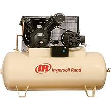 - Ingersoll Rand Type-30 Reciprocating Air Compressor - 15 HP, 230 Volt 3 Phase, Model# 7100E15-V