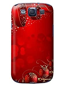 Durable Phone Protection Case/cover fashionable TPU Merry Christmas New Designed for Samsung Galaxy s3