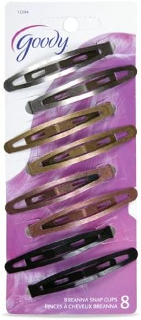 Goody Bangs Clip 2//Pack Purple