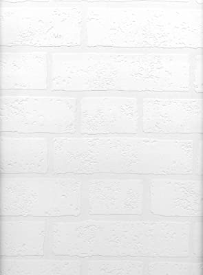 Brewster Belden Brick Texture Paintable Wallpaper Paintable