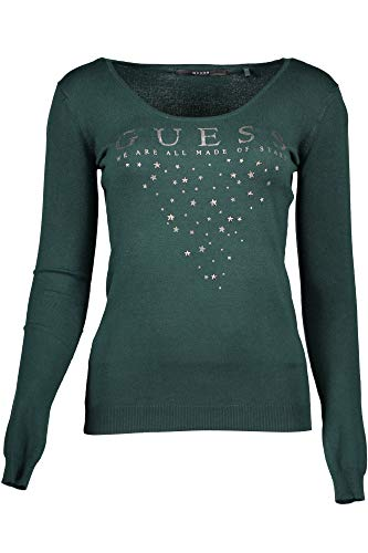 Guess 140340 Para Suéter Verde Mujer qRnYqz