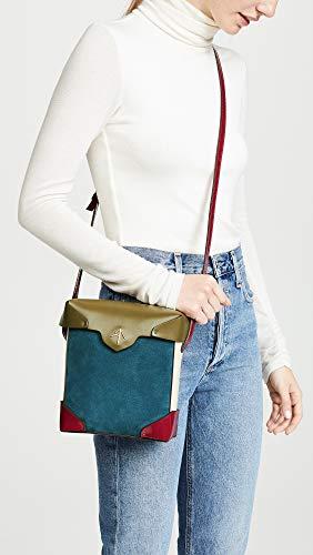 Beige Khaki Pavone Pristine MANU Fuchsia Box Atelier Women's Mini Bag zHfvZq4vw