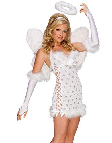 Sexy Angel Costume - Small - Dress Size 6-8 -