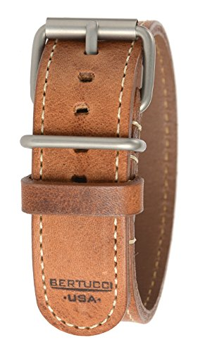 Bertucci B-197H D-Type Mens 22mm Heritage Horween American - Bertucci Watch Bands Leather