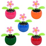 Solar Flower Toy – colors may vary, Health Care Stuffs