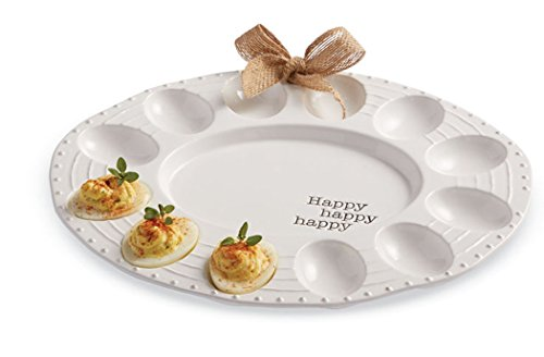 Mud Pie Deviled Easter Bunny Egg Plate (4071043)