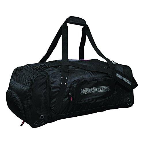 Maverik Lacrosse 365 Gear Bag, Black