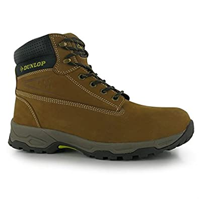 c07bba33ba1 Dunlop Mens Safety On Site Boots Lace Up Mesh Oil and Slip Resistant Shoes  Sundance UK