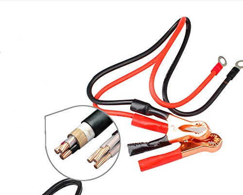 Sean 50A Alligator Clips Booster Jumper Cable for Car Battery Charging Charger. Battery Booster Cable