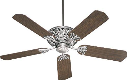Quorum 85525 92  Windsor Antique Silver Energy Star 52  Ceiling Fan