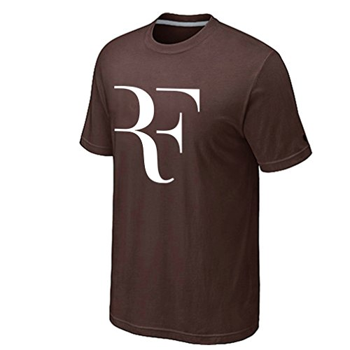 Chocolate Lovers Bikini (Chimpanzee Men's Roger Federer RF T-shirt (Chocolate Large))